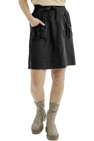 Cream Kvinder Nederdele - [Nanna Skirt