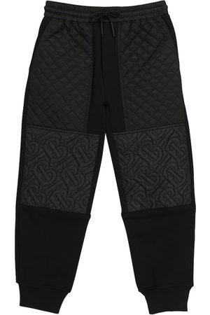 Burberry Kids Drenge Træningsbukser - Cotton-blend trackpants