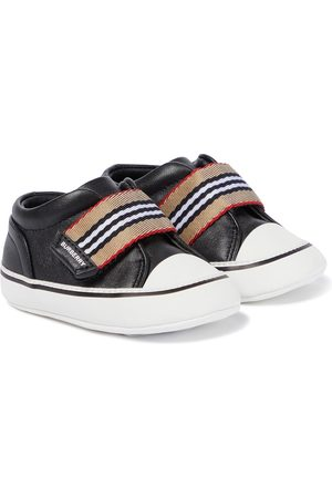 Burberry Sneakers - Vintage Check leather sneakers