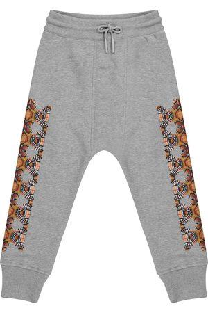 Burberry Kids Thomas Bear cotton sweatpants