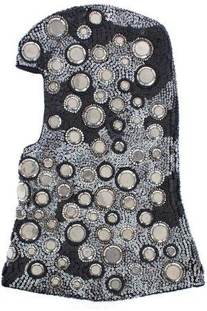 Dolce & Gabbana Wool Crystal Crochet Hood
