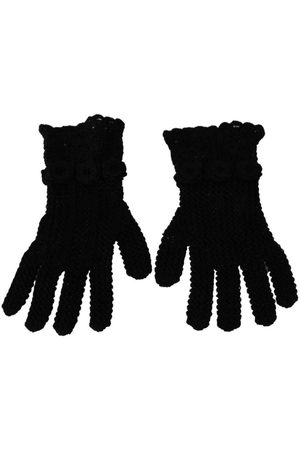 Dolce & Gabbana Knitted Mid Arm Gloves