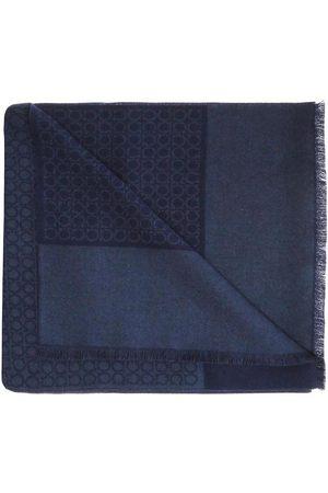 Salvatore Ferragamo Logo scarf