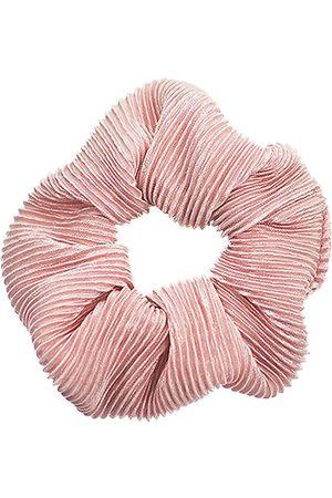 Bows By Stær Håraccessories - Scrunchie - Plisse Rosa