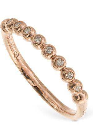 Dodo 9kt & Diamond Bollicine Thin Ring