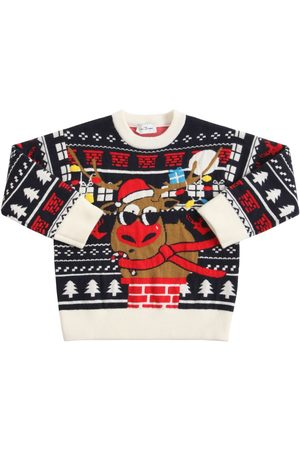 Marc Jacobs Christmas Jacquard Knit Sweater