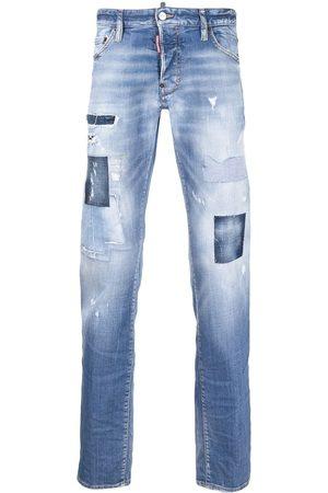 Dsquared2 Stenvaskede jeans med slitageeffekt