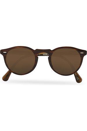 Oliver Peoples Mænd Solbriller - Gregory Peck 1962 Folding Sunglasses Dark Brown