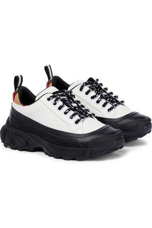 Burberry Drenge Sneakers - Mini Arthur leather sneakers