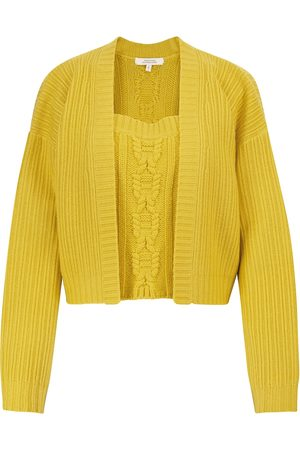 Dorothee Schumacher Delightful Match wool camisole and cardigan set