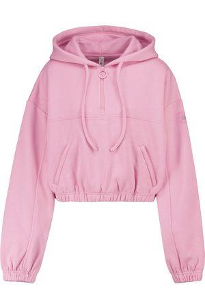 Alo Yoga Refresh cropped fleece hoodie