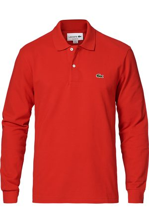 Lacoste Mænd Poloer - Long Sleeve Polo Red
