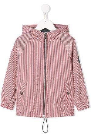 Brunello Cucinelli Drenge Regntøj - Stribet jakke med hætte
