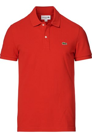 Lacoste Mænd Poloer - Slim Fit Polo Piké Red