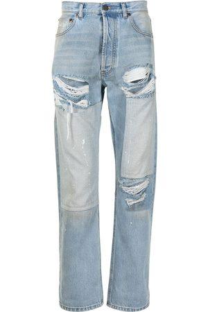 COOL T.M Jeans med lige ben og slitageeffekt