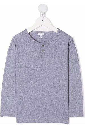 KNOT Drenge Kortærmede - Henley buttoned neck T-shirt