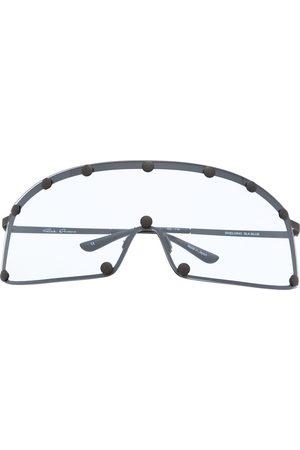 Rick Owens Solbriller - Solbriller med buet kant