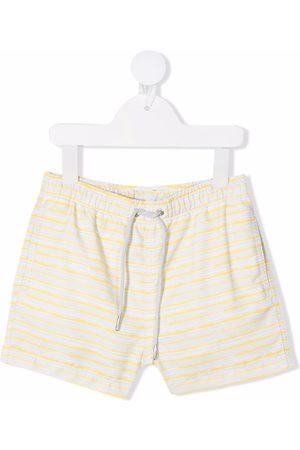 Knot Drenge Badeshorts - Striped swim shorts