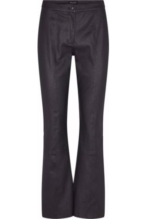 Sand STRETCH LEATHER PANT
