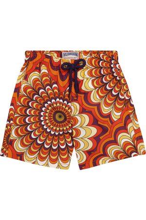 Vilebrequin Kids Drenge Badeshorts - Jim printed swim trunks