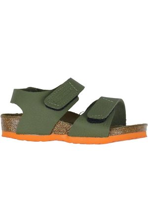 Birkenstock Sandaler - Sandaler - Palu Kids - Desert Soil Moss Green/