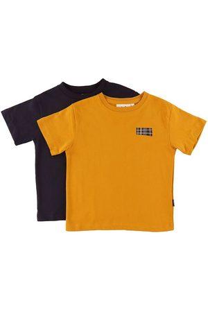 Molo T-shirts - Rasmus - 2-pak - Honey/Navy