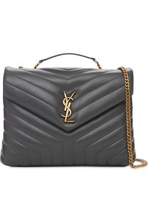Saint Laurent Loulou Medium Y-quilted Shoulder Bag