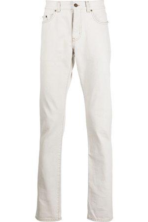 Saint Laurent Smalle jeans med kontrastsøm
