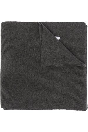 Dsquared2 Mænd Tørklæder - Ribstrikket tørklæde med broderet logo