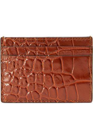 Gucci Mænd Punge - Crocodile card case