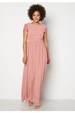 Moments New York Kvinder Festkjoler - Camellia Chiffon Gown Dark old rose 36