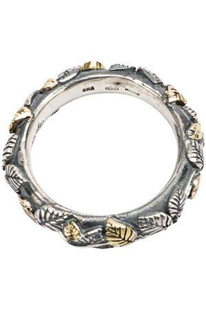 UGO CACCIATORI Mænd Ringe - Ring med indgraverede blade