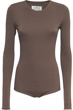 MAISON MARGIELA Kvinder Bodies - Stretch Jersey Bodysuit