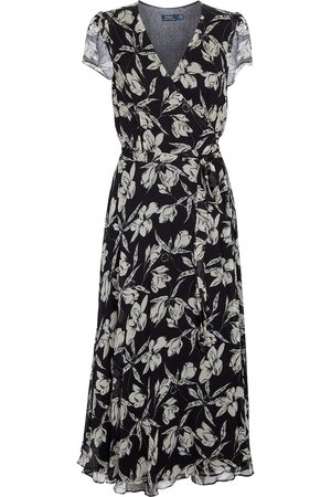 Polo Ralph Lauren Kvinder Maxikjoler - Floral midi dress