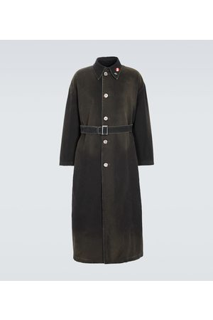 RAF SIMONS Mænd Trenchcoats - Belted cotton trench coat