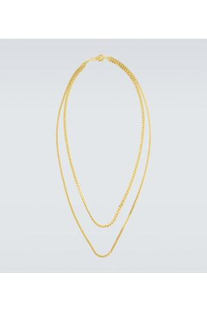 Orit Elhanati Gold-plated double chain necklace
