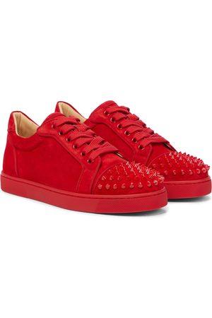 Christian Louboutin Kvinder Sneakers - Exclusive to Mytheresa – Vieira Spikes suede sneakers