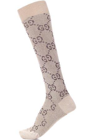 Gucci Kvinder Strømper - GG knitted socks