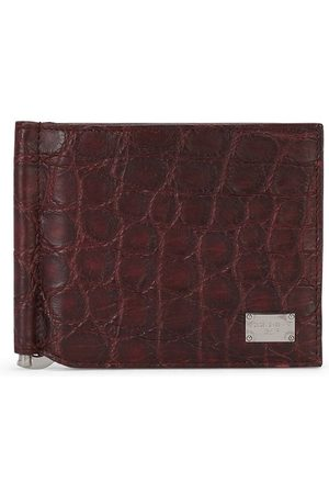 Dolce & Gabbana Mænd Punge - Bi-fold leather wallet