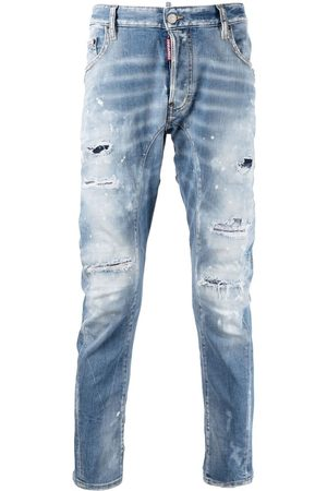 Dsquared2 Mænd Skinny - Skinny-jeans med slitageeffekt