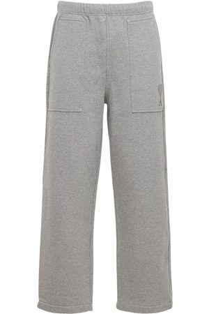 Ami Mænd Joggingbukser - Logo Embro Cotton Jersey Sweatpants
