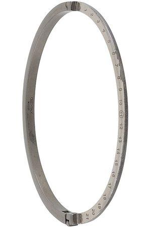 Maison Margiela Mænd Armbånd - Cuff-armbånd med indgravering
