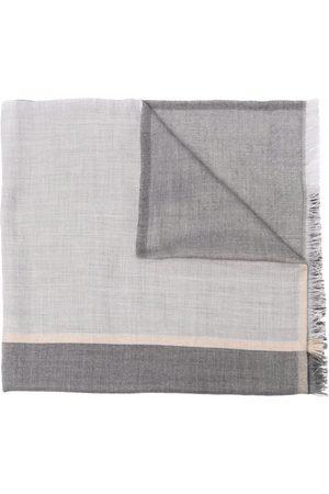 Brunello Cucinelli Mænd Tørklæder - Rektangulær tørklæde med frynser
