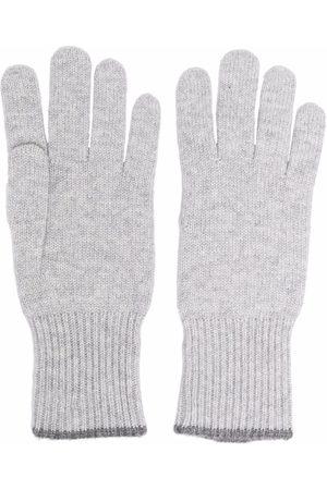 Brunello Cucinelli Mænd Handsker - Strikkede handsker i kashmir