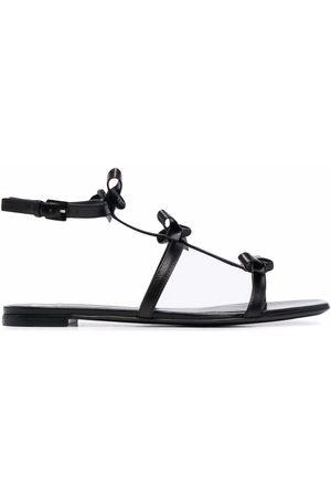 VALENTINO GARAVANI Kvinder Sandaler - Flade sandaler med sløjfedetalje