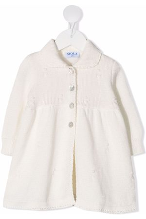 SIOLA Baby Vinterfrakker - Elvira frakke i strik med krave