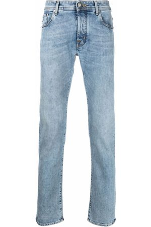 Jacob Cohen Smalle jeans med logomærke