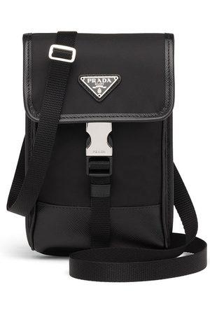 Prada Mænd Skuldertasker - Crossbody-taske med logoplade