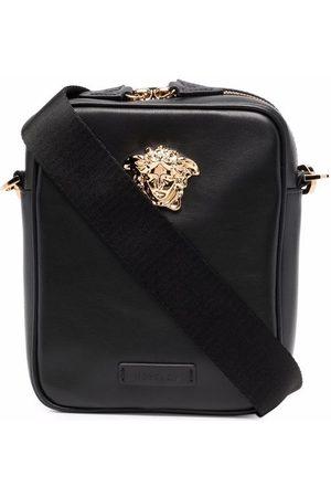 Versace Medusa messenger-taske i læder