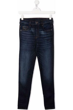 Diesel Piger Straight - TEEN jeans med lige ben og mellemhøj talje